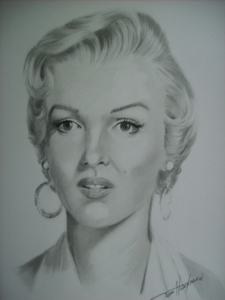 Marilyn Monroe by Tom-Heyburn
